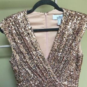 Belle by Badgley Mischa sequined dress. Worn once.